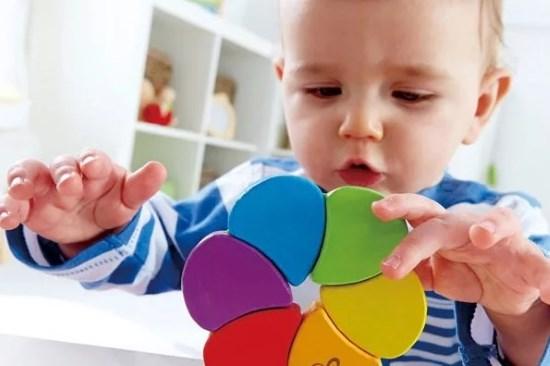 малыш 1 год изучает цвета