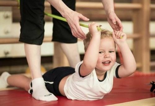занятия физкультурой для ребенка в 2 года