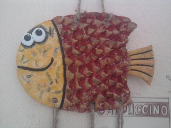 рыбка из соленого теста