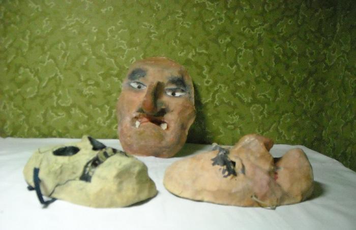 маски папье-маше