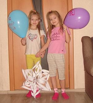 двойняшки в 6 лет