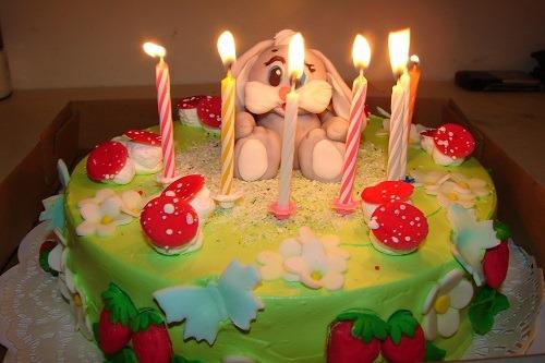 фото красивого торта на день рождения