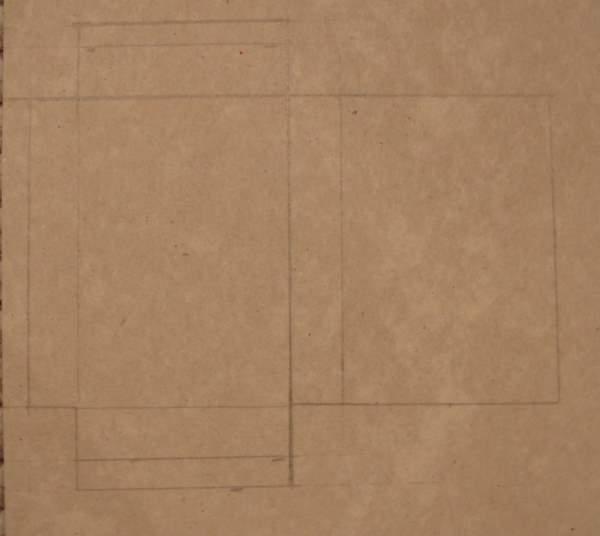Схема для основы танка