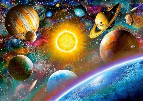 Планеты - рисунок